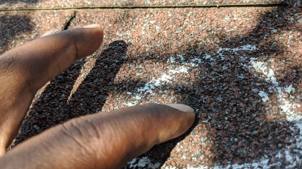 Hail damage Residential Roofing